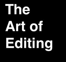 The Art of Editing  logo