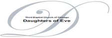 DOE (Daughter of Eve) Women's Ministry logo