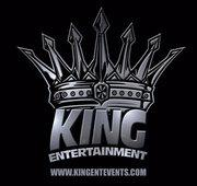 """King Entertainment """"Its Not Just A Party, Its A Way of Life"""" logo"""