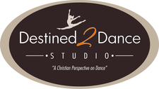 Destined 2 Dance Studio & Performing Arts logo