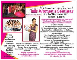 Determined to Succeed - Women's Seminar