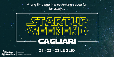 Risultati immagini per Torna a Cagliari la quarta edizione stellare di Startup Weekend in versione estiva!