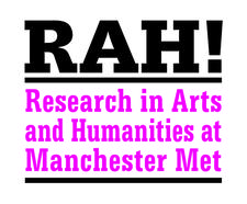 Research in Arts and Humanities at Manchester Met logo
