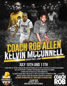 Coach Rob & Kelvin McConell logo