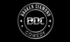 Broken Diamond Comedy logo