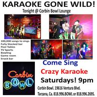 COME SING KARAOKE @ CORBIN BOWL LOUNGE Every Saturday