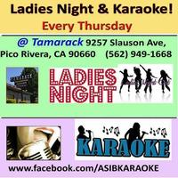 KARAOKE KARAOKE THURSDAYS! @ Tamarack Inn EVERY THURS.