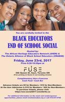 Black Educator Networks - End of School Social