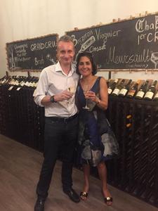 Sneh Gulati; owner of Wine and Vino Boutique logo