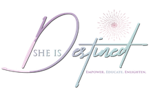 She Is Destined logo
