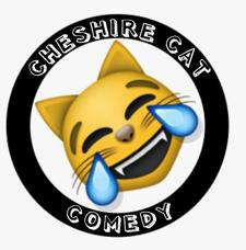 Cheshire Cat Comedy  logo