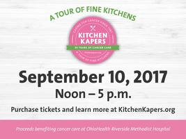 30th Anniversary Kitchen Kapers Tour Tickets, Sun, Sep 10, 2017 At 12:00 PM  | Eventbrite