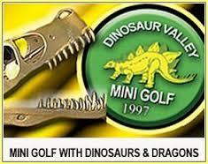 Dinosaur Valley Mini Golf open public event