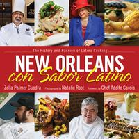 New Orleans con Sabor Latino Book Signing hosted by Chef Ado...