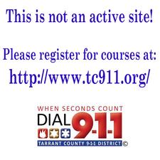 Tarrant County 9-1-1 logo