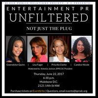 BPRS-DC Presents: Entertainment PR UNFILTERED