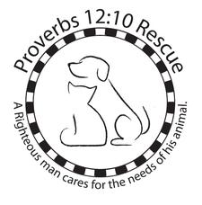 Proverbs 12:10 Animal Rescue logo