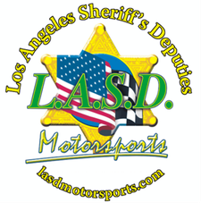 Los Angeles Sheriff's Deputies Motorsports logo