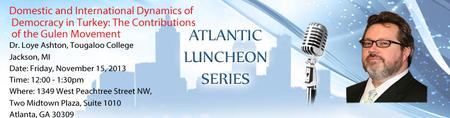 Atlantic Luncheon Series with Dr. Loye Ashton,