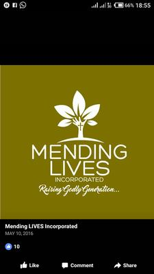 Mending Lives Incorporated logo