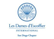 Les Dames d'Escoffier International, San Diego Chapter logo