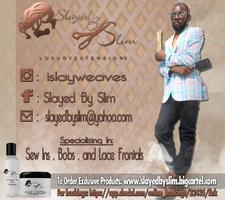 Slayed By Slim and Diamonds Hair Loss Center logo