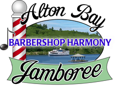 Lakes Region Chordsmen and Town of Alton logo