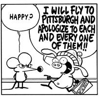 An Afternoon with Stephan Pastis of Pearls Before Swine