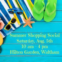 Summer Shopping Social Tickets Sat Aug 5 2017 at 1000 AM