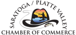 Saratoga/Platte Valley Chamber of Commerce logo