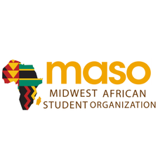 Midwest African Students Organization logo