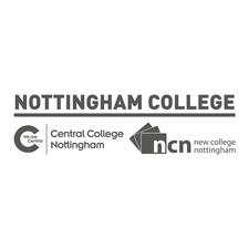 Nottingham College (Formerly New College Nottingham and Central College Nottingham) logo