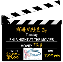 FHLA Night at the Movies