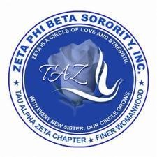 Tau Alpha Zeta Chapter - Zeta Phi Beta Sorority, Inc.  logo