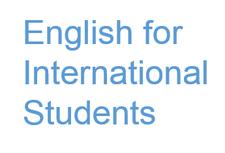English for International Students, University of Dundee logo