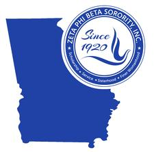 Zeta Phi Beta Sorority, Incorporated, State of Georgia logo