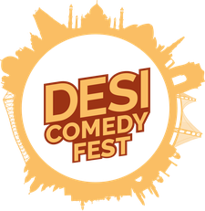 Desi Comedy Fest logo
