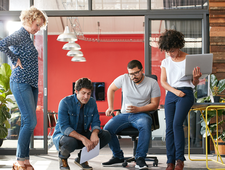 Personaltrainings für Design Thinking, Innovation, Teamkreativität  logo