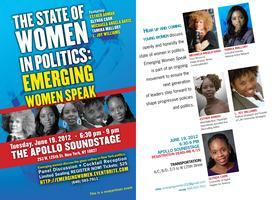 The State of Women in Politics: Emerging Leaders Speak...