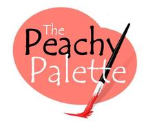 The Peachy Palette logo