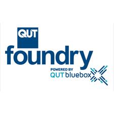 QUT foundry logo