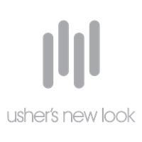 Usher's New Look Spark Center  logo