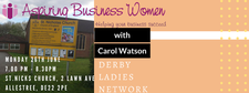 Derby Events Co-ordinator Aspiring Business Women logo