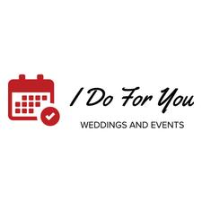 I Do For You - Weddings and Events  logo