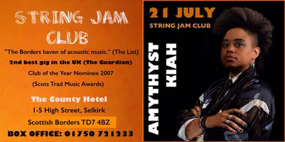 AMYTHYST KIAH at the String Jam Club