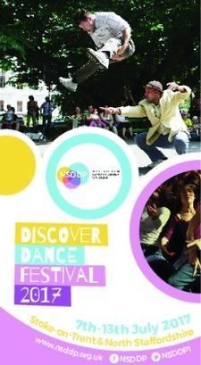 NSDDP's Discover Dance Festival 2017 logo