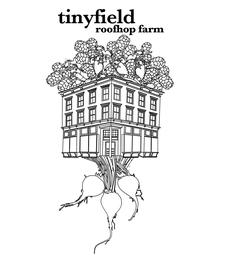 Tinyfield Roofhop Farm logo