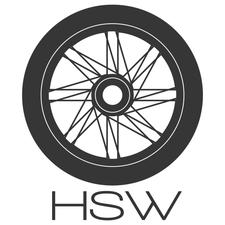 """Hub, Spoke & Wheel (""""HSW"""") logo"""