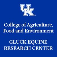 University of Kentucky Gluck Equine Research Center  logo