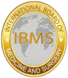 International Board of Medicine and Surgery logo